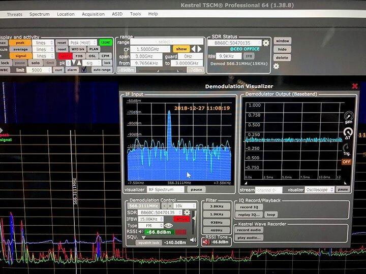 TSCM Monitoring